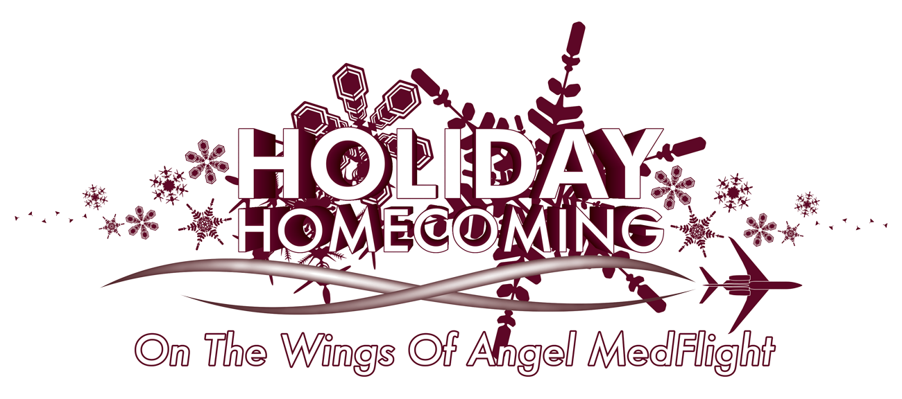 Angel MedFlight Holiday Homecoming Logo